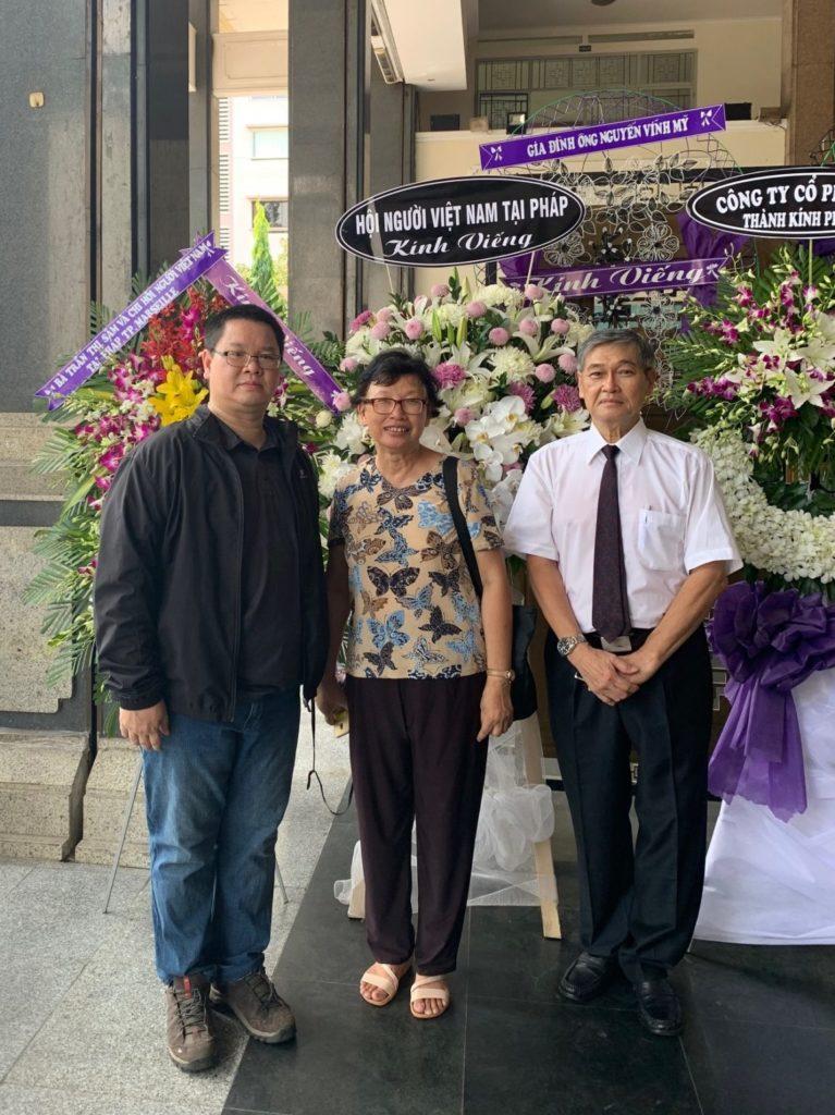 M. Vuong Huu Nghia, Mme. Ha Ngoc Lan et M. Luu Thanh Dung